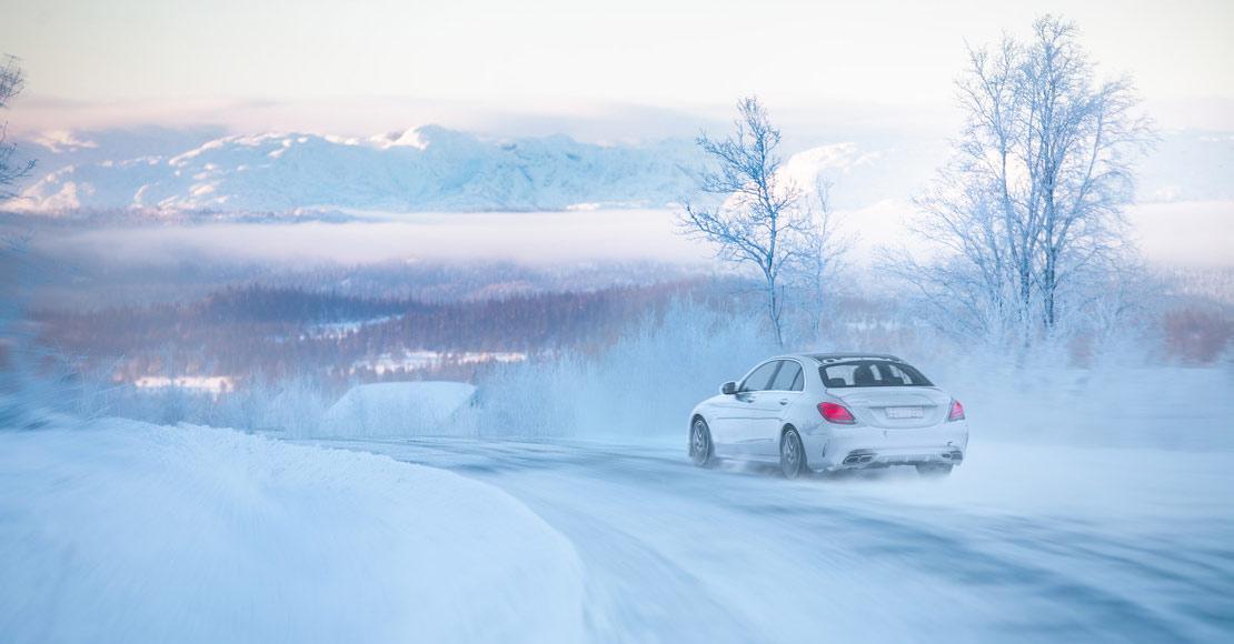Vinterlandskap i Norge